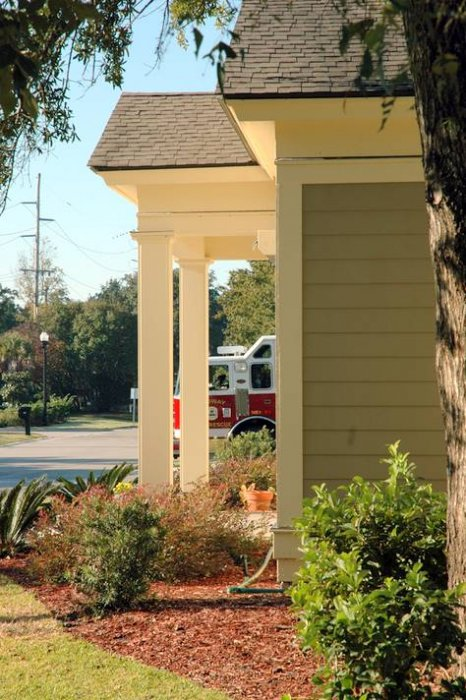 Tych Walker Architects Fire Stations Georgetown County South Carolina