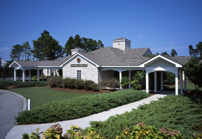 Tych walker architects members club fitness center for St james plantation builders